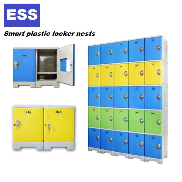 UV Plastic Lockers for Schools/Gyms