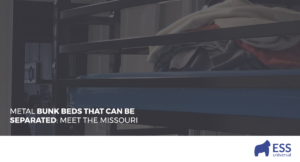 METAL BUNK BEDS THAT CAN BE SEPARATED: MEET THE MISSOURI