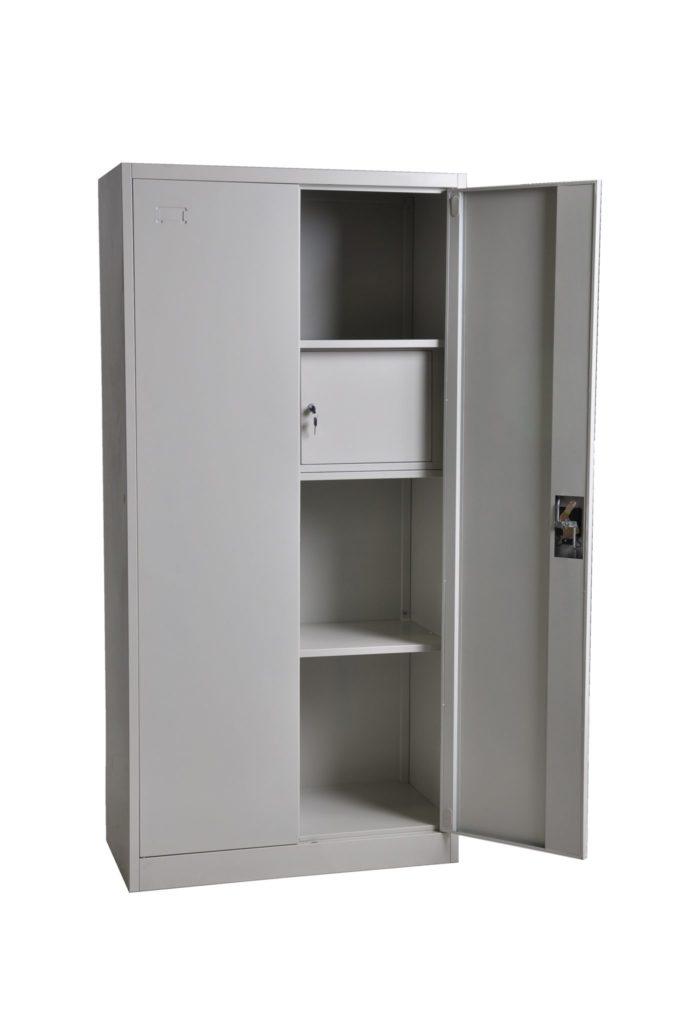 Metal Wardrobe Armoire Heavy Duty Commercial Use Ess